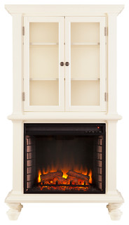 Waltham Electric Fireplace Curio