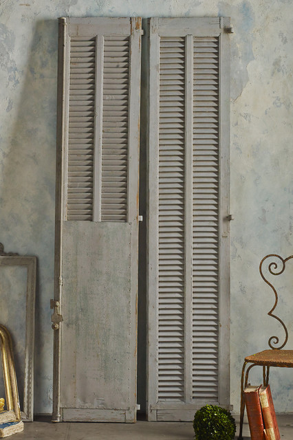 Reims Shutters Rustic Interior Shutters St Louis By Soft Surroundings