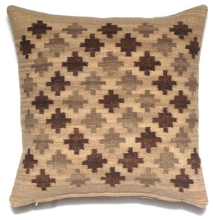 Kilim Handmade Wool Pillow - Southwestern - Decorative Pillows - by Loominary