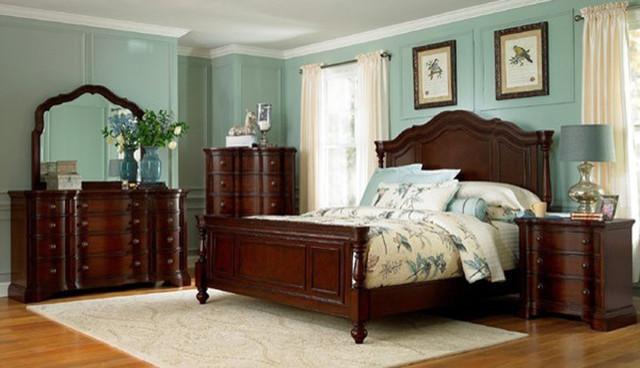 ... - Devonshire Poster Bedroom Set - 191-POSTER bedroom-furniture-sets