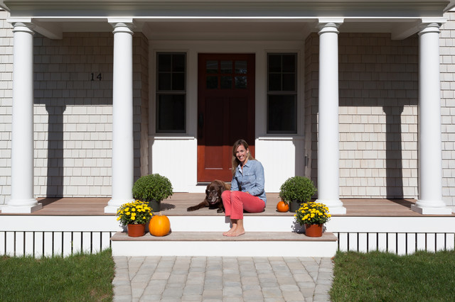 Plymouth house beach style exterior by kate mogul for Mogul interior designs