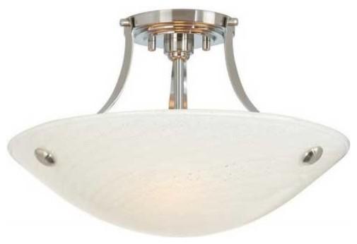 neptune cfl semi flush ceiling mount modern flush