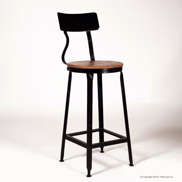 Kitchen Stools Melbourne: Industrial Bar Chair