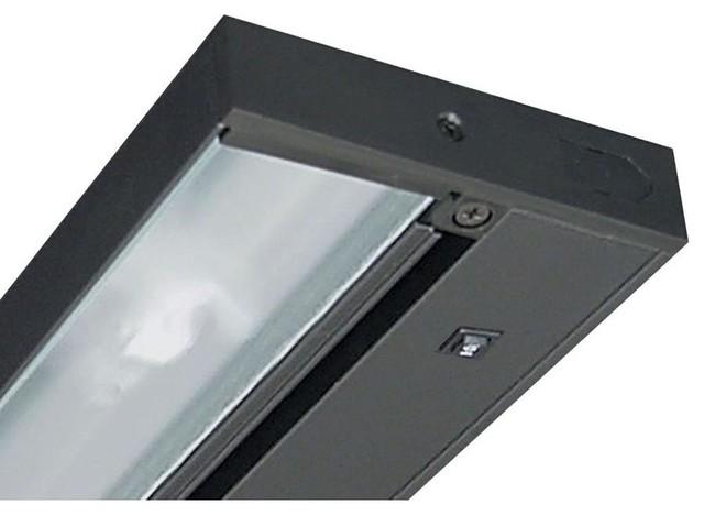 juno under cabinet lighting pro series 22 in led black undercabinet. Black Bedroom Furniture Sets. Home Design Ideas