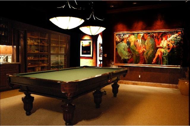 cigar rooms   mediterranean   las vegas   by interior art