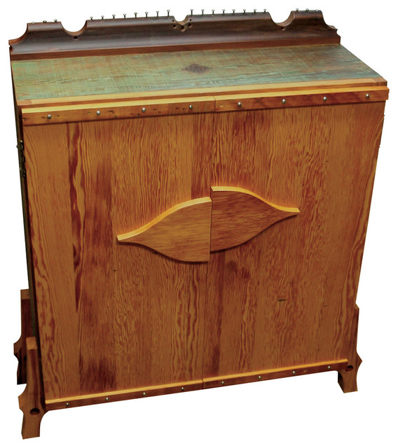 Salvage Wood Cabinet - Art Furniture - Eclectic - Furniture - san francisco - by PMADF - Paul ...