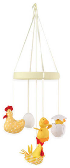 chicken farm mobile modern baby mobiles other metro. Black Bedroom Furniture Sets. Home Design Ideas