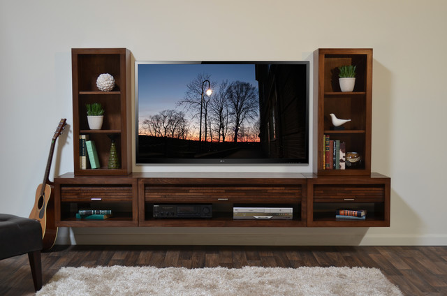 Floating Wall Mounted TV Stand - Eco Geo