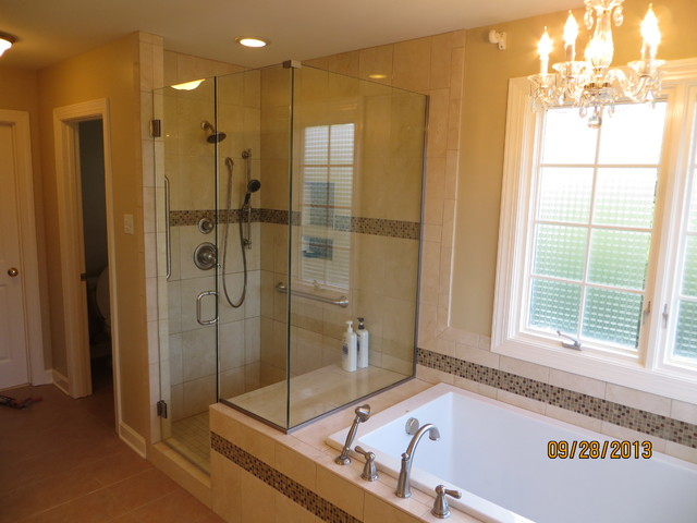Williamsburg master bath remodel for Bathroom remodeling williamsburg va