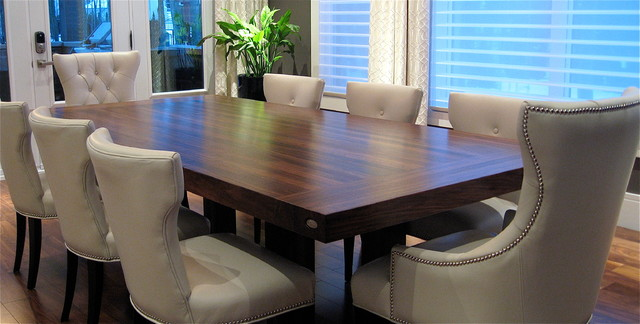 Dining table contemporary tables montreal