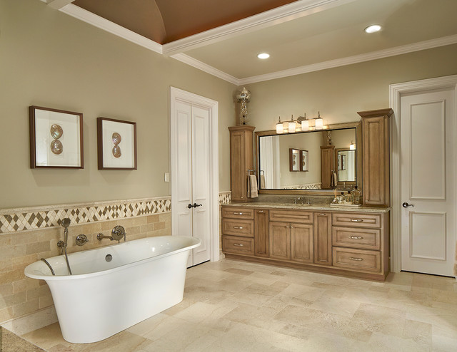 Open concept master bathroom transitional bathroom Open master bathroom designs