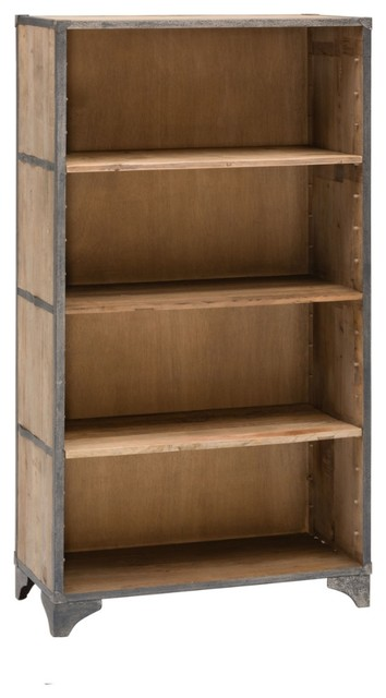 Lilian Bookcase Industrial Bookcases By Domayne Online