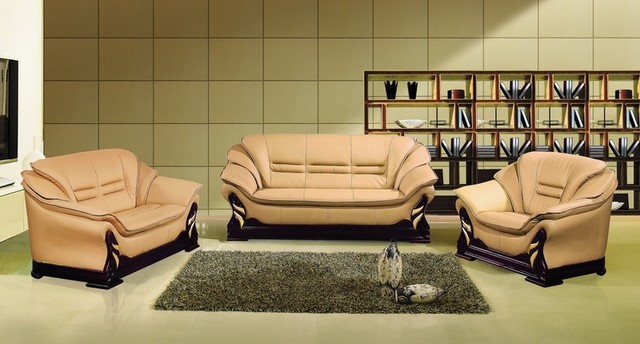 modern camel leather sofa couch loveseat chair tufted