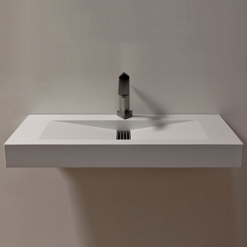 Floating Hydros Sink - Modern - Bathroom Sinks