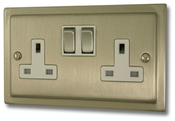 satin nickel sockets an switches