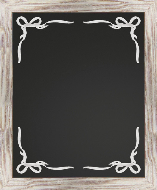 Border Chalkboard White Rustic Bulletin Boards And