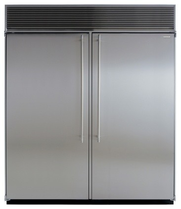 "M72CSSSS 72"" Side-by-Side Double Cabinet Refrigerator with Full Extension Glide - Contemporary ..."