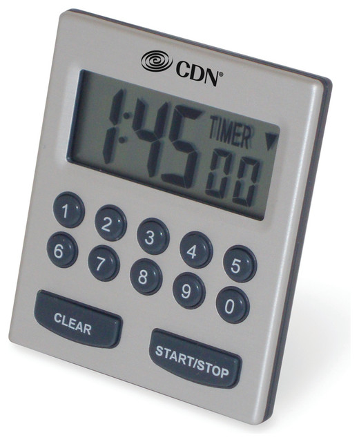 Direct Entry 2 Alarm Timer Contemporary Kitchen Timers By Cdn Portland Or