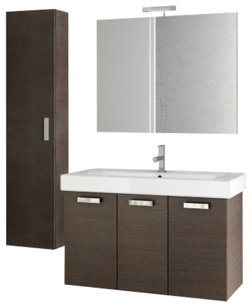40 inch wenge bathroom vanity set modern bathroom vanities and sink