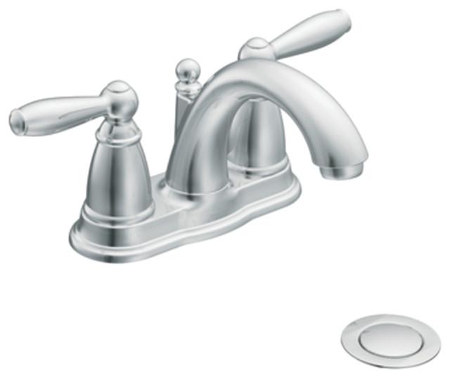 Moen 66610 Brantford Bathroom Faucet Chrome Traditional