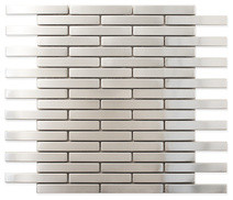 Stainless steel metal tile 5 8x4 for 8x4 bathroom design