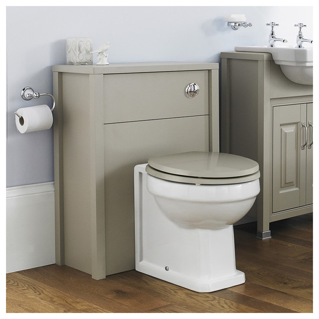 old london richmond wc unit with back to wall toilet pan