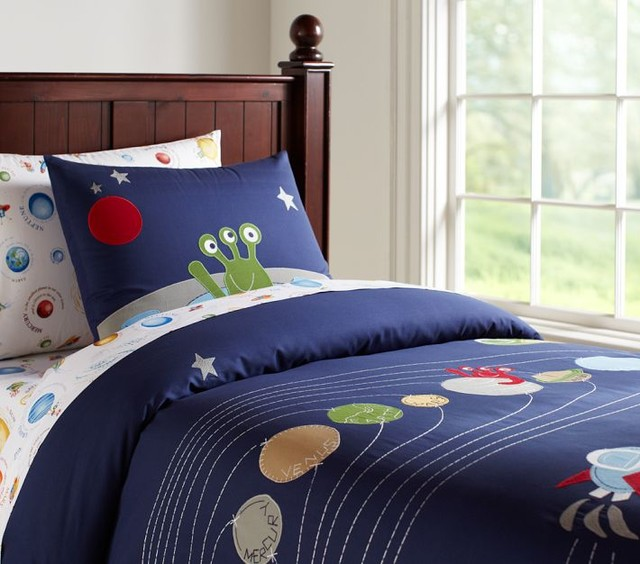 Nathan Duvet Cover - Eclectic - Kids Bedding - by Pottery ...