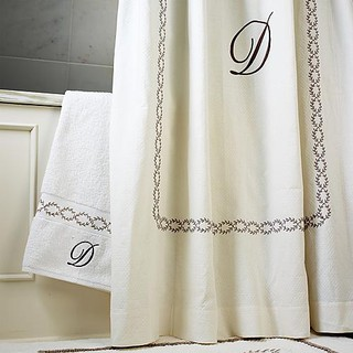 Provence Shower Curtain Frontgate Traditional Shower