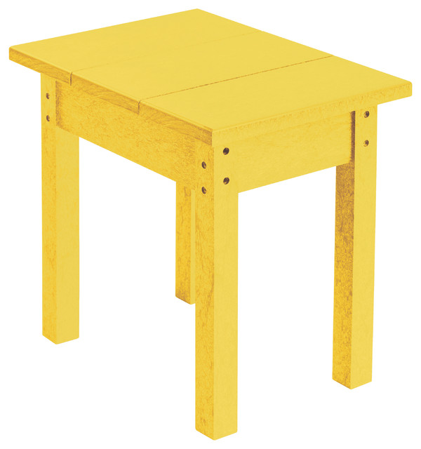 Generations Small Side Table, Yellow