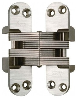 Soss #416 Fire Rated Invisible Hinge Satin Stainless Steel 416SSUS32D - Industrial - Hinges - by ...