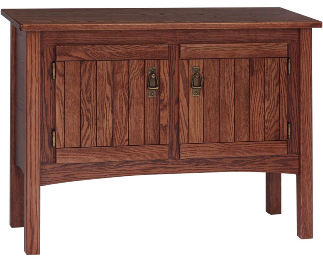 Solid Oak Mission Style Sofa Table Craftsman Side Tables And End Tables