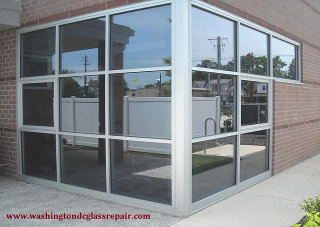 Easy way to replace old Storefront Glass | Washington DC - Industrial - Windows - by Washington ...