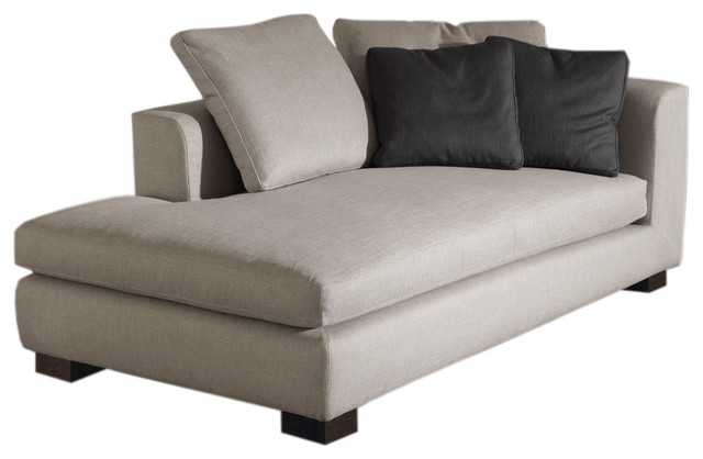 Minotti matisse modern chaise longue modern by switch for Chaise longue or chaise lounge