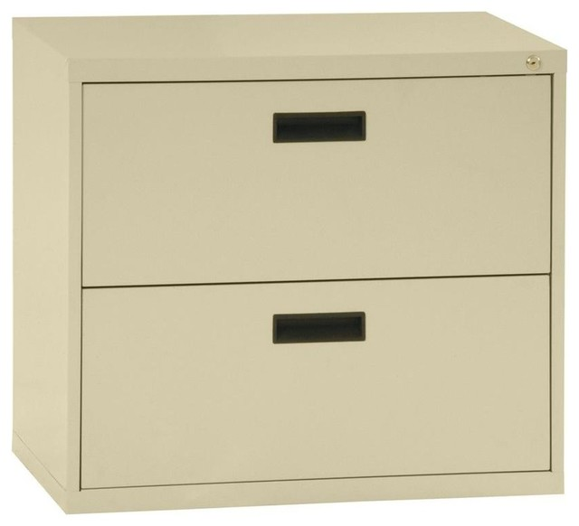 Sandusky File & Storage Cabinets 400 Series 2-Drawer Lateral File ...