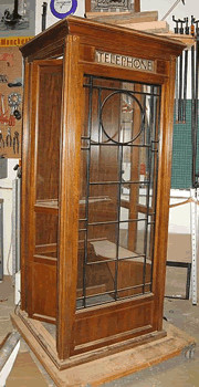 Vintage Phone Booth 4 Midcentury Furniture Montreal