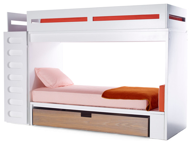 alex bunk system Modern Bunk Beds new york by ducduc
