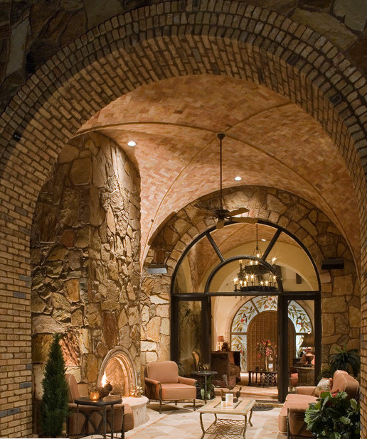 Groin vault ceiling ideas mediterranean other by for Acme kitchen cabinets calgary