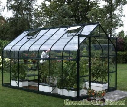 Vitavia Saturn 8 x 14 Greenhouse - Contemporary ...