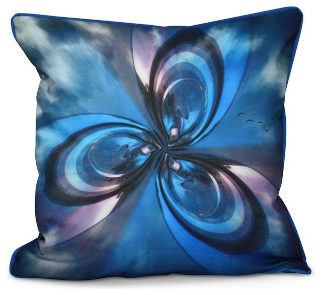 Inside out designs pillow blue purple grey black 20 for Insider design pillow