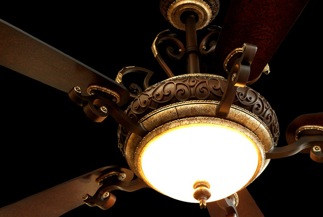 Napoli By Minka Aire Traditional Ceiling Fans Orange