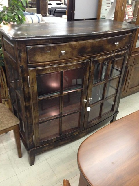 Dining Room Rustic Birch Rustic Buffets And Sideboards Other By Count