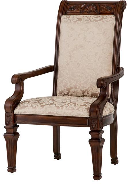AICO Michael Amini Villagio Arm Chair Traditional Dining Chairs By Unli