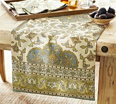 Great Sofia Medallion Table Runner 18 X 108 Quot Traditional. Download