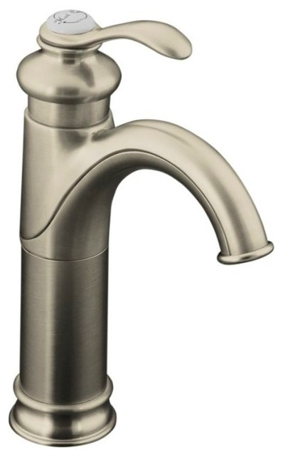 Kohler K 12183 Bn Fairfax Tall Single Handle Lavatory Vessel Faucet Contemporary Bathroom