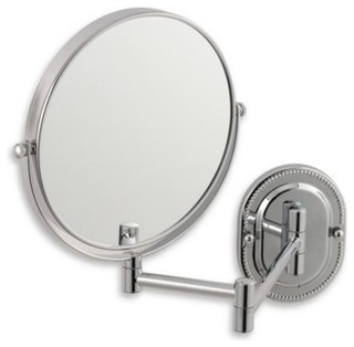 mount mirror contemporary makeup mirrors by bed bath beyond. Black Bedroom Furniture Sets. Home Design Ideas