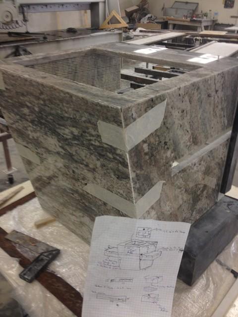 Custom Granite Sink Fabrications - Altro - di Aust Marble Granite ...