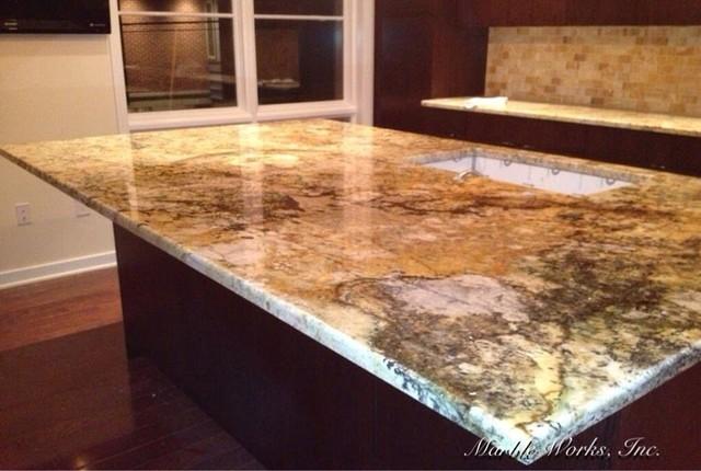 Kitchen countertops - Contemporary - Kitchen Countertops ...