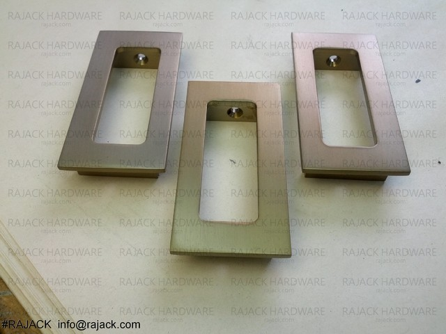 RJ575 Flush Pulls - Cabinet And Drawer Handle Pulls - New York - by RAJACK HARDWARE