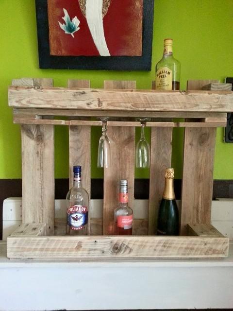 Etag re porte bouteilles et verres par ldd industrial wine racks other - Etagere porte bouteille ...