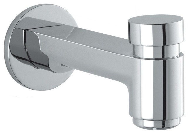 Hansgrohe 14414001 Metris S Tub Spout With Diverter In Chrome Traditional
